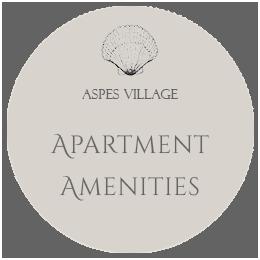 Aspes Village Apartment Amenities Amorgos